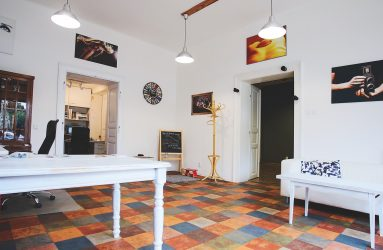 Fotostudio interier